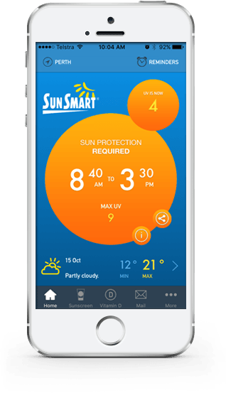 SunSmart UV App