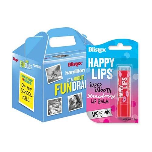Blistex Happy Lips Fundraiser Box (Pack 8)